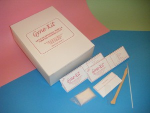 gyne-kit estuche para estudio papanicolaou