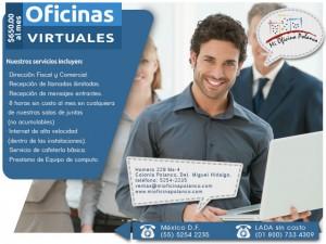 renta una oficina virtual en ciudad de m�xico, incluye domicilio fisca