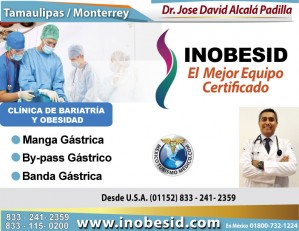 centro bariatrico mexico, bariatria tamaulipas, david alcala inobesid