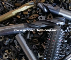 compro desperdicio, scrap de carburo de tungsteno
