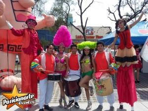 carnaval y desfiles: show de batucada. posicionarte eventos.