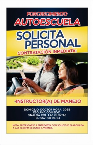 instructor de manejo en culiacan en auto