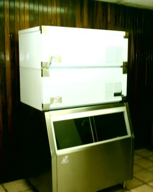 venta de maquinas productoras de hielo