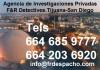 Agencia de investigaciones F&R  Tijuana-San Diego