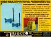 bomba de un piston para pruebas hidrostaticas