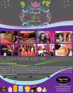fiesta spa mexico animadoras fiestas tema spa para niñas mexico